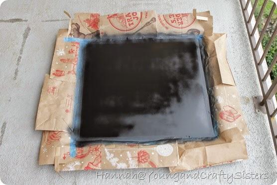 Window Pane Chalkboard 1