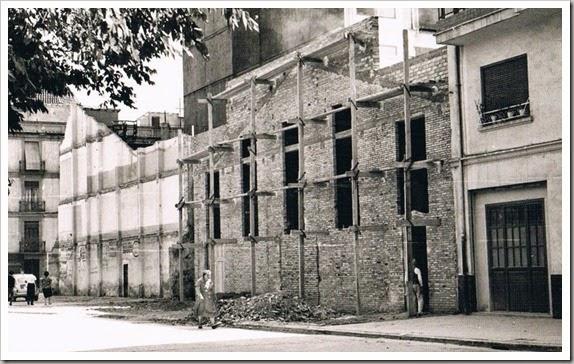 1954 TEATRO MICALET EN CONSTRUCCION