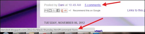Dani Do It comments links