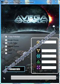 Vega Conflict Hack Cheats
