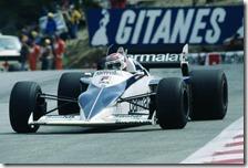 Nelson Piquet con la Brabham