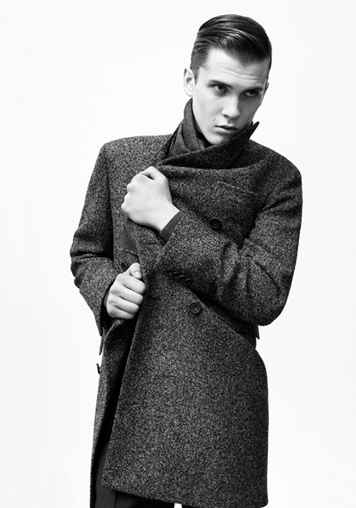 William Eustace @ FM/VNY bu Paul Wetherell for Hardy Amies RTW F/W 2011