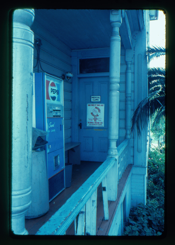 Herself Health Clinic entrance at the Gay Communtiy Services Center. Circa 1972