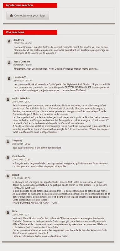 comentaris Ouest-France