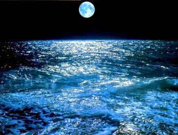 Landscapes-Moon-over-Sea