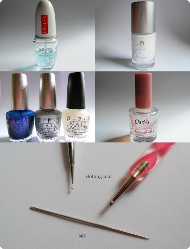 nail art materiale smalti
