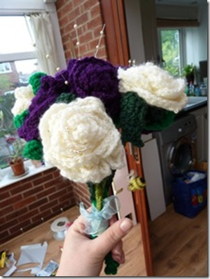Crochet Flower Bouquets (28)