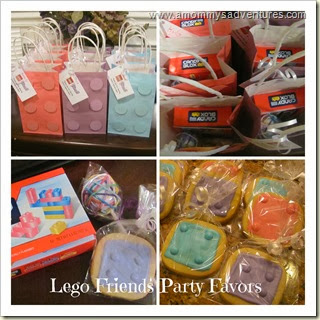 LEGO Friends Party Favors
