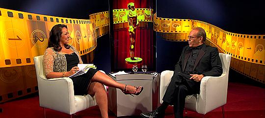 Maria Beltrão e José Wilker - Foto: Reprodução/TV Globo