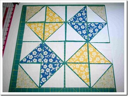 ribbon star layout