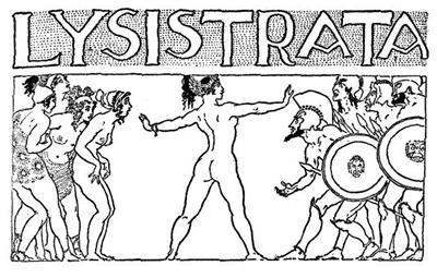 Lysistrata takes a stand