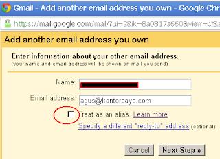 Menumpang di SMTP Gmail 3