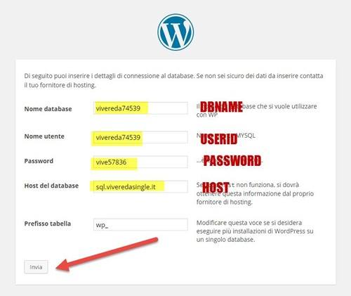 configurare-database-wordpress