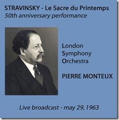 Stravinsky Consagracion Monteux 50 aniversario