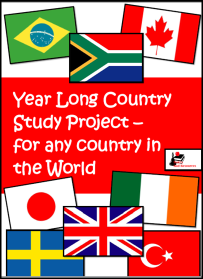 country study project from Raki's Rad Resources