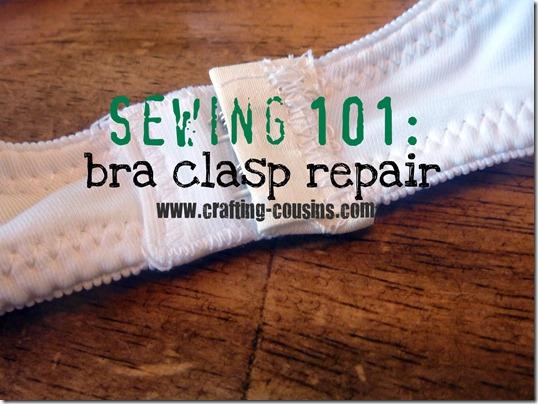 bra clasp repair text
