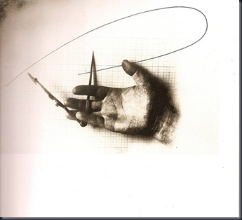 Point of View El Lissitzky... Untitled (Hand with a Compass) 1924