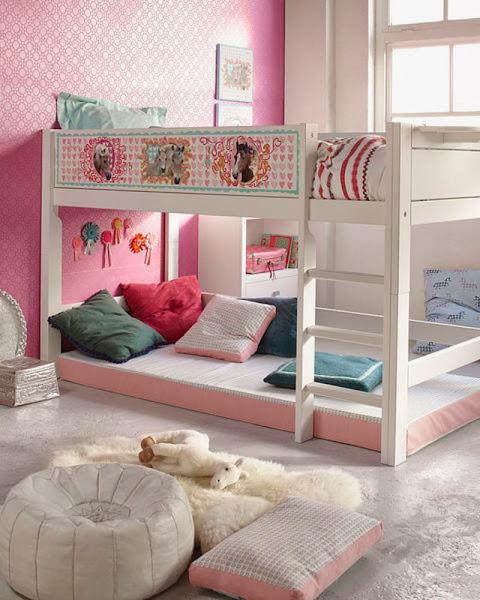 Girls Loft Bed Ideas Girls Bunk Beds