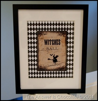 The Graphics Fairy Witch Print