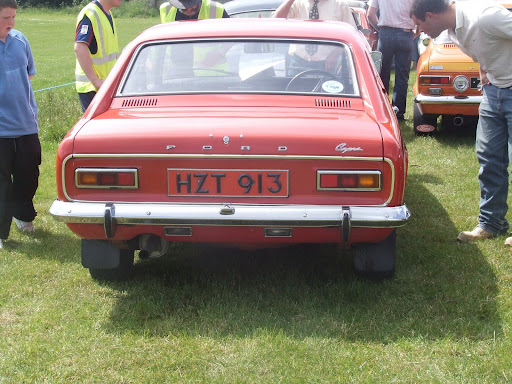 lovely 1971 Ford Capri 1.6