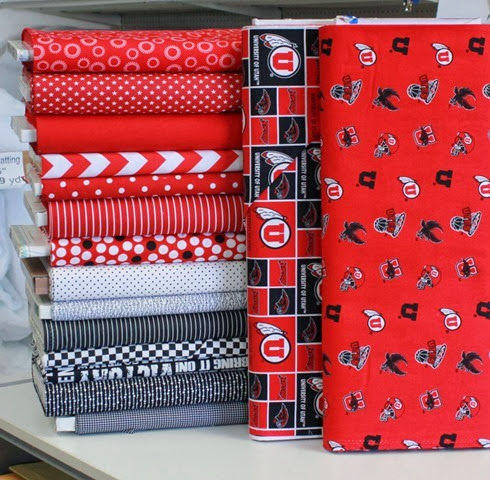 Utes quilt and kit available from The Fabric Mill