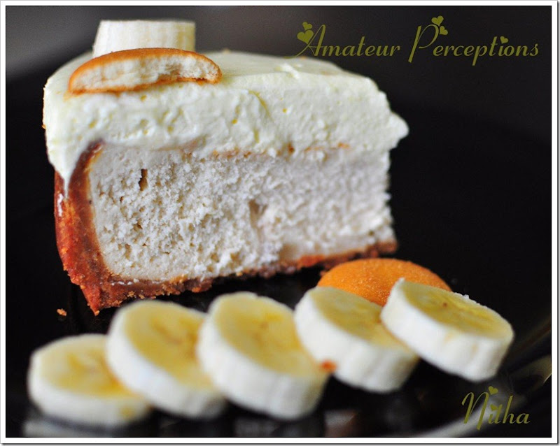 Banana Cream Cheese Cake 2