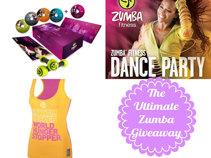 the ultimate zumba giveaway