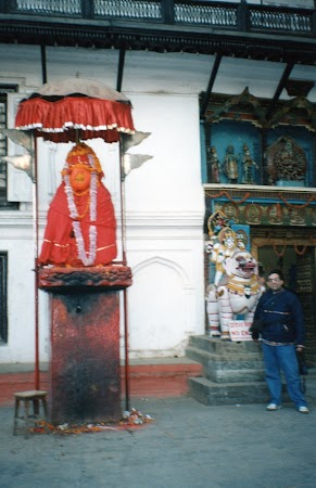 Obiective turistice Nepal: Hanuman jenat Kathmandu