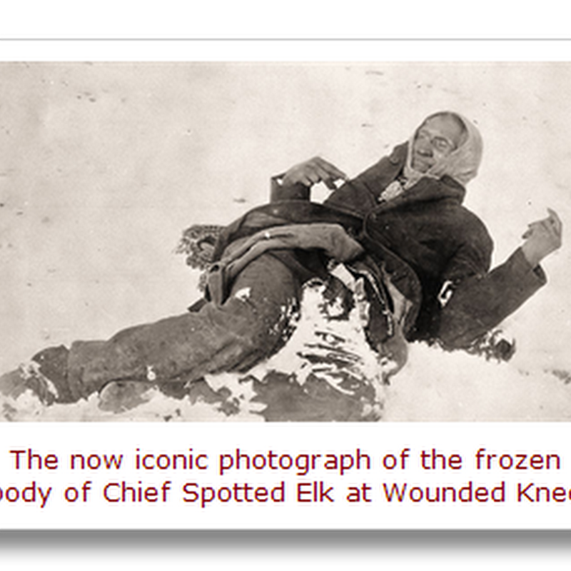 """Bury my heart at Wounded Knee."""