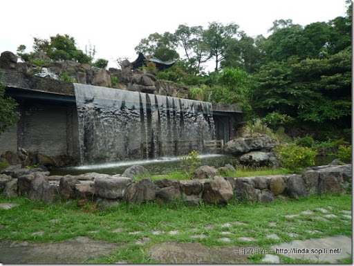 緣道觀音廟-山門水牆