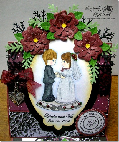Anniversary Easel Cake Card2