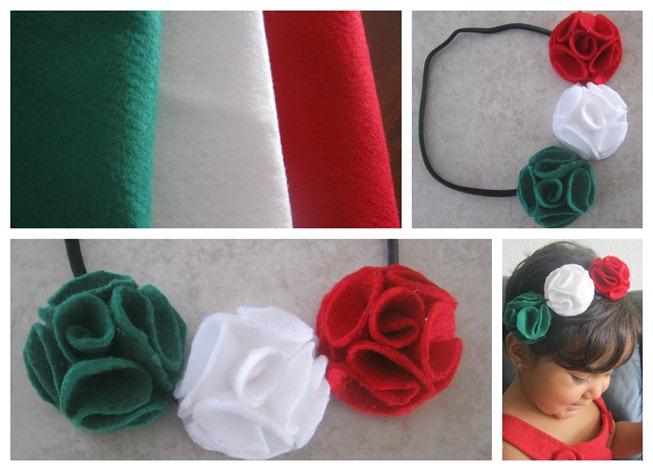 Mexican baby headband diadema mexicana para bebe