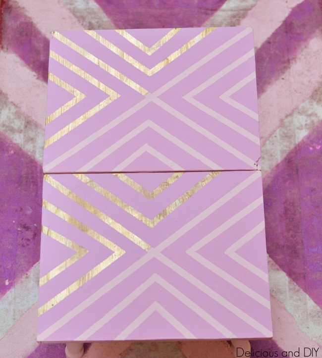 lavender-table-geometric