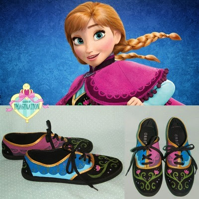 Anna Frozen Sneakers from Garden of Imagination