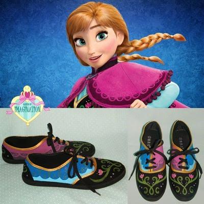 Anna Frozen Sneakers from Garden of Imagination