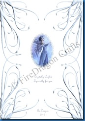 Spellbound Fairy1 birthday card back CW