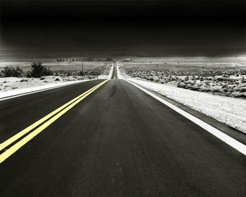 Black-White-Road
