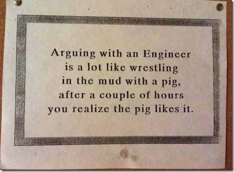 engineer pig wrestling