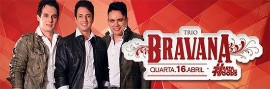 Trio Bravana é a atração desta quarta-feira, dia 16, no Wood's em São Paulo