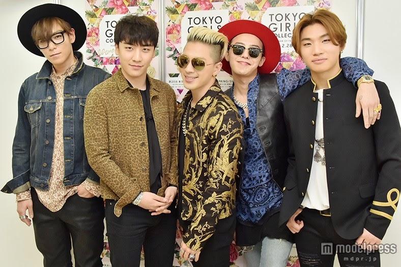Big Bang - Tokyo Girls Collection - Backstage - 28feb2015 - modelpress - 03.jpg
