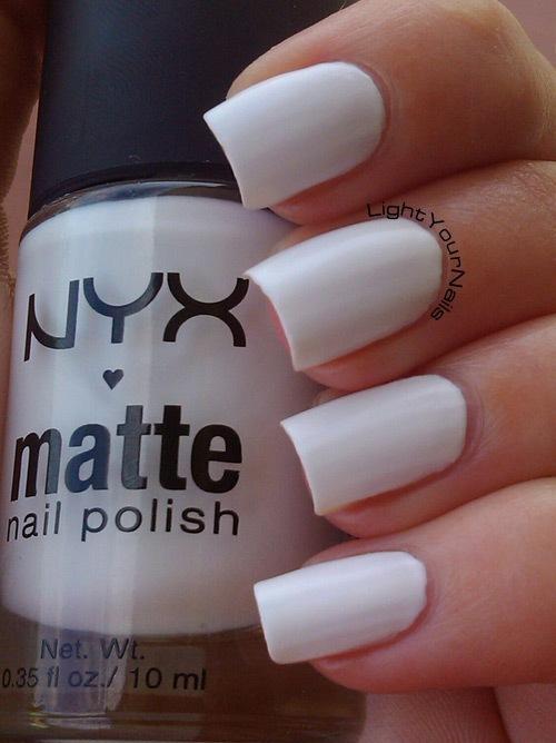 Nyx Matte White