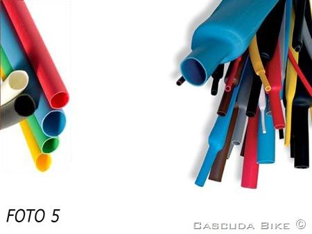 BRICO BIKE - Fundas termorretráctiles de colores.