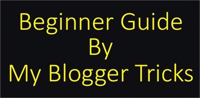 MyBloggerTricks