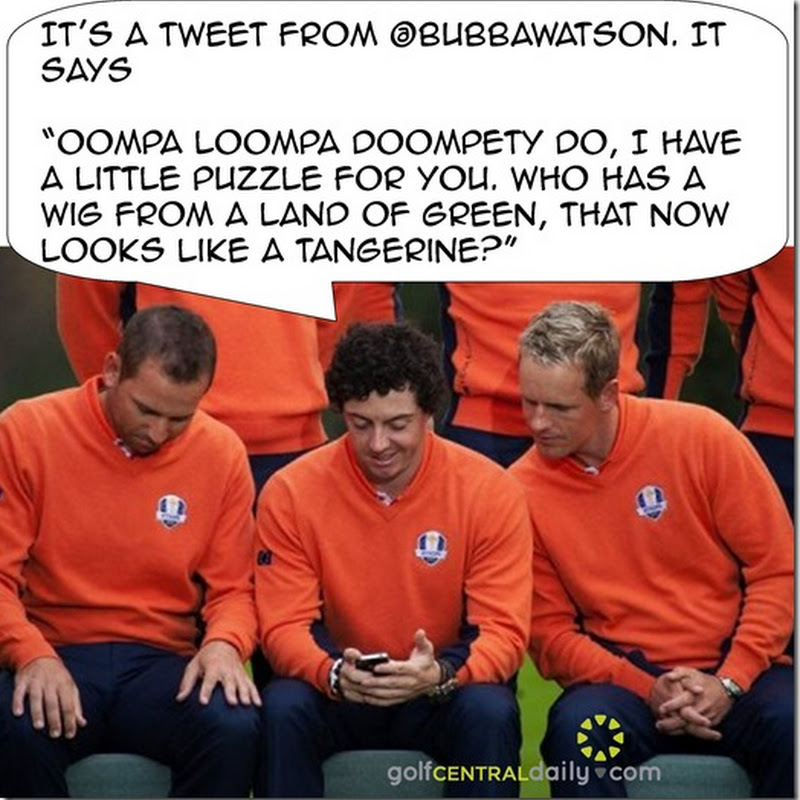 What Bubba Tweeted To Rory At The Ryder Cup