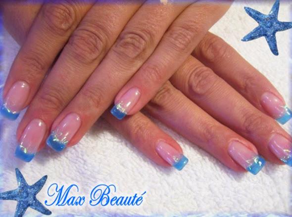 Blue acrylic nail designs nail designs hair styles tattoos and aqua blue nails acrylic design blue acrylic nail designs prinsesfo Gallery