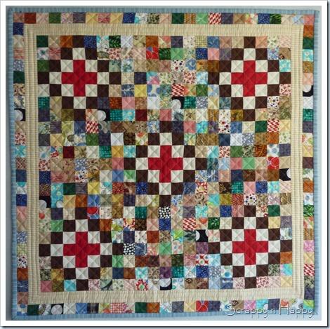 Scrap challenge quilt