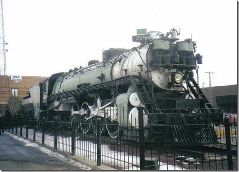 Placespages great northern locomotive 2584 havre mt great northern 2584 at havre montana in february 2000 sciox Choice Image