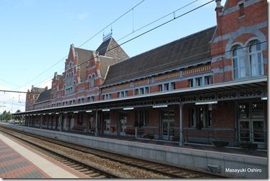 ベルギーの最終駅エッセン駅(Essen)