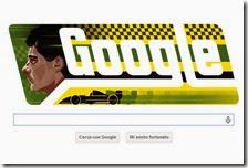 Il Doodle dedicato ad Ayrton Senna
