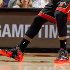 lebron james nba 131127 mia at cle 01 LBJ Wears Away 11s and... Goes Back to Elite 10s, Again!